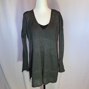 Aritzia - Babaton grey lightweight sweater Size S
